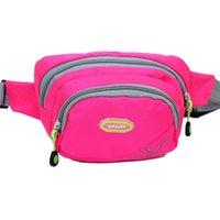 barrel bag gym - 2016 New Fashion Men Women Lovely Fanny Bag Waist Pack Multi Function Leisure Mobile Phone Travel Sport Gym Running Camera Bags