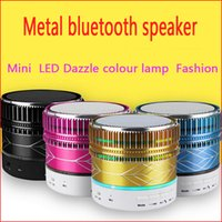 app reader - dazzle light wireless bluetooth speakers card subwoofer app small portable mini mobile audio support cellphone iphone S29U