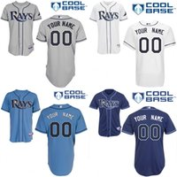 bay for sale - cheap Men s Custom Tampa Bay Rays Baseball Jersey Flexbase Collection For Sale stitched size S XL