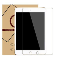 Wholesale Free DHL Ultra thin mm Tempered Glass Screen Protector For IPad mini Air Ipad Pro Screen Protective Film with Retail Package