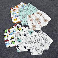 Wholesale 2016 INS Harem Short Pants Boys Girls Baby Shorts Kids Girl Boy Summer Cartoon Clothing Children Cotton Casual fashion Clothes