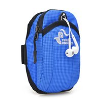 armed camp - 5 inch Running Jogging GYM Protective Phone Bag Sports Wrist Bag Arm Bag Outdoor Waterproof Nylon Hand Bag For Camping Hiking