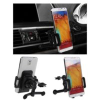 Universal 360 Titulaire Mont Air Vent Mobile Phone Cradle Degree Rotating Car Stand pour iPhone 4S 5S pour GPS LG