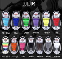 Wholesale Coolnice No Tie Shoelaces Adult Athletic Silicone Shoe Laces For All Size Sneaker Sandals Runningshoes PAIRS Fashionable