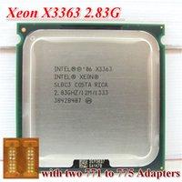 Wholesale Original Intel Xeon X3363 SLBC3 SLASC CPU Processor GHz LGA771 MB L2 Cache Quad Core server CPU