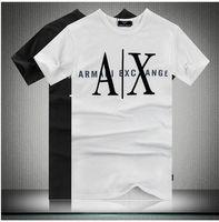 ax shirt - High qualit new brand o neck men s T shirt summer many colors series AX