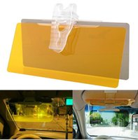 Wholesale Anti dazzle Car Sun Visor Goggles PVC Anti Glare Mirror Sun Shading Block Front Windshield Shades for Automobile