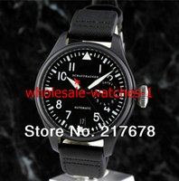 big ops - op quality Luxury Sapphire Power Reserve Big Pilot Day Day Black IW501901 automatic Men s Watch Watches