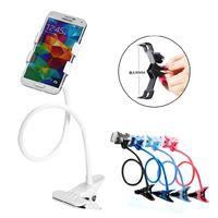 Wholesale 360 Rotating Flexible Long Arm Cell Phone Holder Stand Lazy Bed Desktop Tablet Car Selfie Mount Bracket Desk Holder Retail High Quality