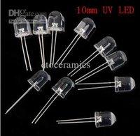 Wholesale NEW mm Ultraviolet UV LED Ultra Bright UV LED Degree nm HI POWER Purple