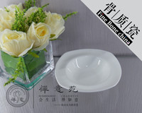 Wholesale 6 quot BaoLi Square Bowl Fine bone china Bird s cup soup Bowls fine porcelain ceramics Shara Cake water soup cups home Housewear Furnishings