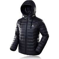 Wholesale Fall Ultra light Series Outdoor Down Winter Coat Hooded Casual Warm Outerwear white duck down jacket for Men and Women