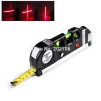 Wholesale Multipurpose Level Laser Horizon Vertical Measure Tape spirit level tool Laser LV03 with m measure tape