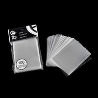 Wholesale 100pcs pack mm Card Sleeve Cards Protector Magic Killers of Three Kingdom Football Star Card Unsealed Game Sleeves New