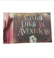 adventure book scrapbook - Our Adventure Book Pixar UP Movie Scrapbook DIY Wedding Photo Album Anniversary Gifts
