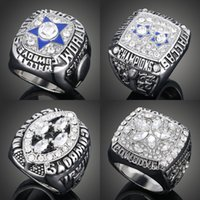 Wholesale 1971 Replica Dallas Cowboys Superbowl Championship Rings With Ring Box For Rings
