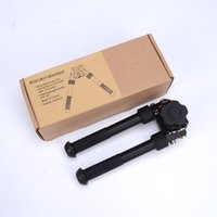 Wholesale SINAIRSOFT BT10 LW17 V8 Aluminum Black Atlas Adjustable Precision Bipod ADM QD Mount For Hunting Mount airsoft rifle shotgun Accessories