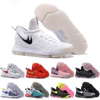 baseballs usa - 2016 Basketball Shoes KD EP IX Premiere USA Olympics Kevin Durant Men Sports Shoes Discount Sports Shoes Leather Mens Basketball Sneakers