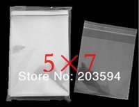 Wholesale 3000pcs OPP Clear Self Adhesive Seal Pack Bags x7cm Cellophane BOPP Poly Bags quot X3 quot inch