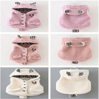 Wholesale Girls Kids Clothing Clothes Winter Cartoon Bear Vest Waistcoat Kids Outfits Fashion Children Warm Clothing Colors