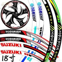 Wholesale 18 inches Motorcycle Stickers Reflective stickers moto Yamaha Suzuki Yoshimura valentino rossi stickers
