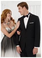 best lounge pants - Sell like hot cakes Best Selling new black Slim Fit Men s Suit Romantic wedding Suit party dress Lounge suit Bridegroom two buttons