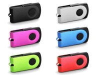 Wholesale hotsale mini swivel usb flash drive gb gb real capacity pendrive bestselling memory stick factory price