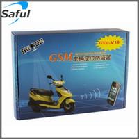 alert motorcycle - SMS phone loudspeaker alert alarm GSM network remote real time monitoring gsm vehicle Motorcycle tracker system