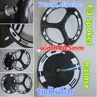 Wholesale Newest HED K weave road bicycle wheels Front mm spokes Rear close carbon wheelset with mm width A271 hub
