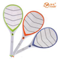 Wholesale YAGE rechargeable mosquito swatter YG household insecticide mosquito swatter net with LED lamp
