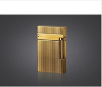 Wholesale NEW S T Memorial lighter Bright Sound gold color