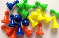 Wholesale pawn chess plastic game pieces for board game card game and other games accessories