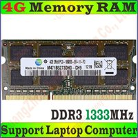 Wholesale High Quality Original Samsung Memory RAM PC3 S g GB g GB DDR3 MHz FOR Laptop Notebook PC PC3 G G No Package Box
