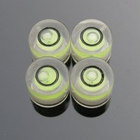 Wholesale Pieces mm mini spirit level Round bubble level water level indicator plastic bubble level for camera