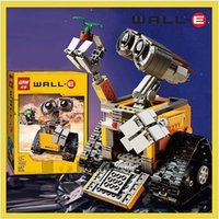 Wholesale 2016 New Lepin Idea Robot WALL E Building Set Kits Minifigures Bricks Blocks Bringuedos legeod Children Toys Gift