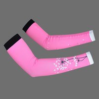 Wholesale Pair Cycling Gear Outdoor Bike Cycling Arm Warmers Sport Arm Sleeves Riding Gloves Arm Sleeves YS0091