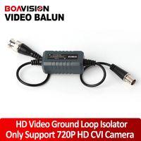 Vidéo isolateur France-HD Coaxial boucle de terre Isolator Balun Vidéo BNC Homme Pour Femme Pour 720P Caméra HD analogique CVI CCTV