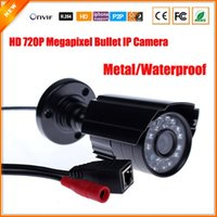 Wholesale HD Megapixel IP Camera Outdoor Bullet Waterproof P Security Surveillance Mini CCTV Camera IR Cut P2P Megapixel Lens