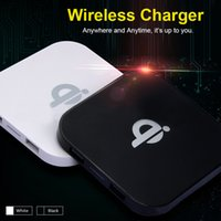 Wholesale High quality new Qi Wireless Charger Square Wireless Charging Pad USB Port for Samsung Galaxy S6 Edge Plus Google LG Nexus5