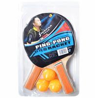 aluminum shakes - Long Handle Shake hand Table Tennis Set Rackets Table Tennis Balls Ping Pong Paddle Table Tennis Racket