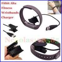 Wholesale 1FT FT USB Power Charger Charging Charge Cable Cord For Fitbit Alta Wireless Wristband Bracelet VS Fitbit Blaze Straps Apple watch Straps