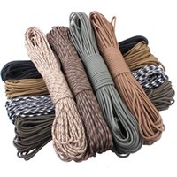 Wholesale amping Hiking Travel Kits feet New Paracord Paracord Parachute Cord Lanyard Rope Mil Spec Type III Strand100FT Clim