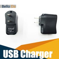 Wholesale Universal Wall Chargers for MobilePhone MP3 Car navigation US USB A Wall Travel Charger