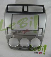 Wholesale Car refitting DVD frame panel Dash Kit Fascia Radio Frame Audio frame for Honda City Aircon Manual DIN