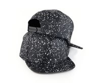 ball cap pattern - Star stype unique blank univers pattern spot print high crown flat brimmed penium leather baseball hip hop cap retail