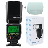Wholesale SHANNY SN600SN master and slave speedlite flashgun flash for Nikon i TTL M RPT High speed sync1 s GN60