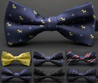 Wholesale Mens Fashion Accessories Neck Bowtie Bow Tie Adjustable Bow Tie high quality metal adjustment buckles multi style