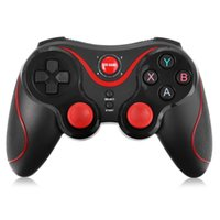 Wholesale New Wireless Bluetooth Joystick Gamepad Gaming Controller Remote Control for Android iPhone iCade Games PC Holder Included