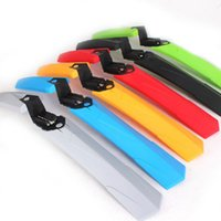 Wholesale quot Plastic Bicycle Front Mudguard Rear Fender Mud Guard Inch Mountain Bike Mud Tile Fast Remove Mud In Addition To Ride The Rain Board