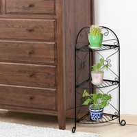 Wholesale 3 Tier Metal Stand Holder Display Shelves for Office Deco
